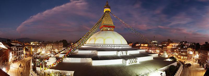 Le Bodnath à Katmandou avec Samsara Voyages