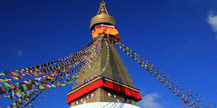 Bodnath à Katmandou avec Samsara voyages
